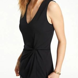 NWT BLACK BLOUSE FROM ANN TAYLOR